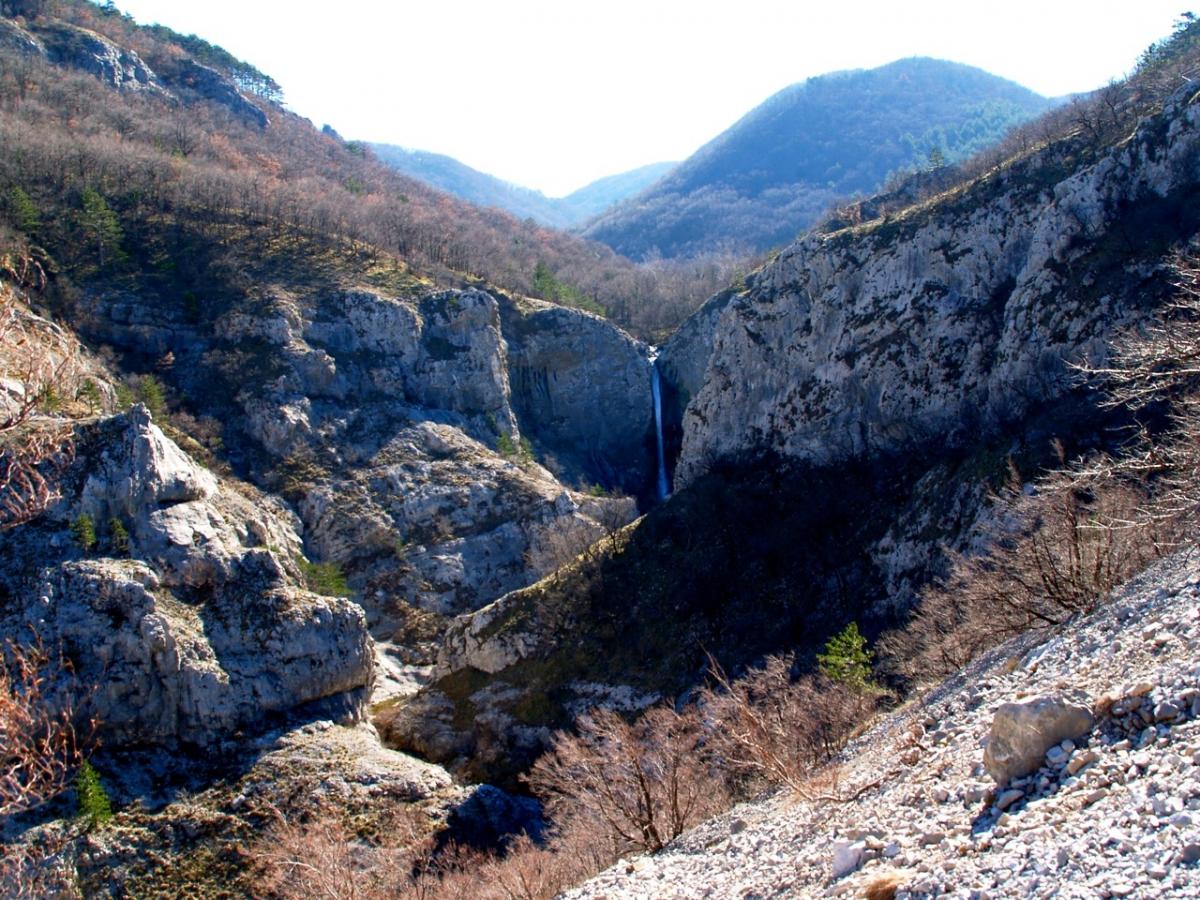 Punti di interesse  Riserva Valrosandra - Dolina Glinscica