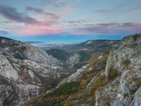 Alba Val Rosandra/Jutro v Dolini Glinščice - Photo by Roberto Valenti