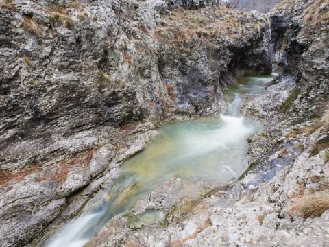 Torrente Rosandra/Reka Glinščica - Photo by Roberto Valenti