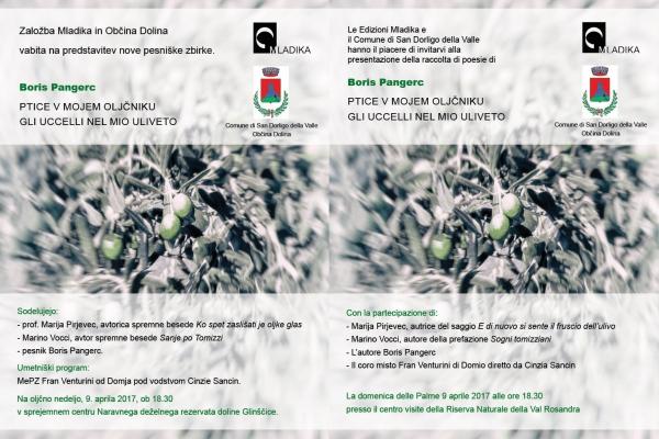 """Presentazione del libro """"Ptice v mojem oljčniku/Gli uccelli nel mio ulivetto"""""""